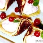 Кулінарний рецепт арабські млинці з начинкою з фото