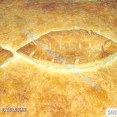 Кулінарний рецепт бабусин листковий рибний пиріг з фото
