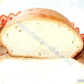 Кулінарний рецепт білий хліб з фото