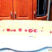 Кулінарний рецепт бісквіт з черешнею з черешнею з фото