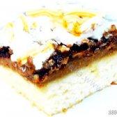 Кулінарний рецепт бісквіт з горіховою начинкою з фото
