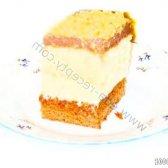 Кулінарний рецепт бісквіт з заварним кремом з фото