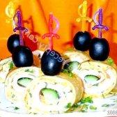 Кулінарний рецепт млинцева закуска острячок з фото