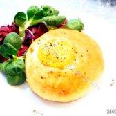 Кулінарний рецепт швидкі булочки з яйцем з фото