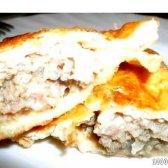 Кулінарний рецепт чебуреки з трьох видів м'яса з фото