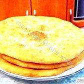 Кулінарний рецепт домашня коржик кунжутная з фото