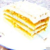 Кулінарний рецепт яблучно-пудингову тістечко з фото
