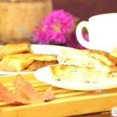 """Кулінарний рецепт яблучні """"кишеньки"""" з фото"""