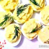 Кулінарний рецепт яйця з часником з фото