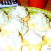 Кулінарний рецепт канапе тарталетки з фото