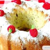Кулінарний рецепт кекс з маком і вишнями з фото