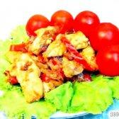 Кулінарний рецепт курка по-східному з фото