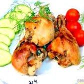 Кулінарний рецепт курка в маринаді з ківі з фото