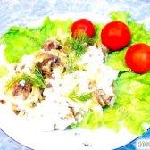 Кулінарний рецепт куряча печінка під сиром з фото