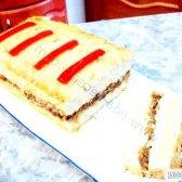 Кулінарний рецепт курячий хліб із сиром і грибами з фото