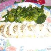 Кулінарний рецепт курячий рулет у фользі з фото