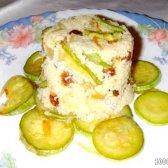 Кулінарний рецепт кус-кус з родзинками і овочами з фото