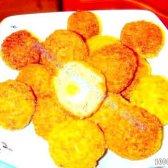 Кулінарний рецепт м'ясні кульки з яйцем з фото
