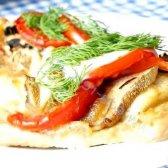 Кулінарний рецепт відбивні з грибами і помідорами з фото