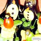 """Кулінарний рецепт овочева закуска """"пташиний ринок"""" з фото"""