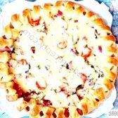 Кулінарний рецепт піца святкова з фото