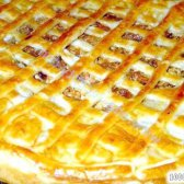 """Кулінарний рецепт пиріг """"прощай талія"""" з фото"""