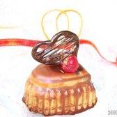 Кулінарний рецепт тістечка серце для закоханих з фото