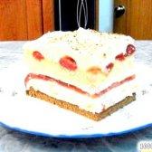 Кулінарний рецепт пляцок полуничний з фото