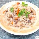 Кулінарний рецепт плов з куркою і грибами з фото