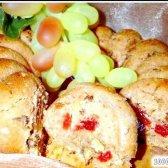 Кулінарний рецепт пісний кекс на відварі з яблук з фото
