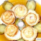 Кулінарний рецепт трояндочки з тіста з ковбасою з фото