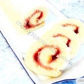 Кулінарний рецепт рулет з желе з фото