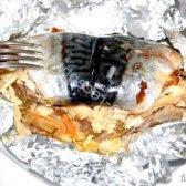 Кулінарний рецепт рулети з скумбрії на гаряче з фото