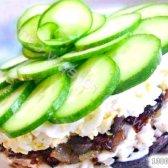 """Кулінарний рецепт салат """"меркурій"""" з фото"""