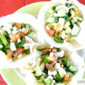 Кулінарний рецепт салат в кошику з лаваша з фото