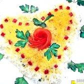 Кулінарний рецепт салат весняна ніжність з фото