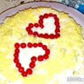 Кулінарний рецепт салат закоханий буніто з фото