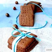 Кулінарний рецепт шоколадно-горіхове печиво з фото