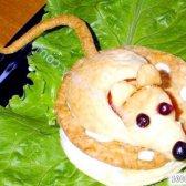 """Кулінарний рецепт слойки """"мишка на сирі"""" з фото"""