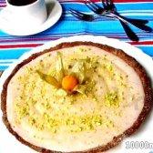 Кулінарний рецепт тарт з полуничним джемом і мусом з фото