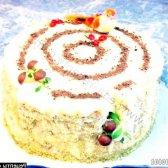 Кулінарний рецепт торт солодкий пень з фото