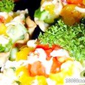 """Кулінарний рецепт закуска """"фантазії літа"""" з фото"""