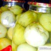 Кулінарний рецепт зелені помідори консервовані з фото
