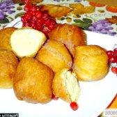 Кулінарний рецепт смажені пончики з сиру і гарбуза з фото
