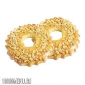 Тістечко пісочне кільце з горіхами. калорійність пісочного кільця з горіхами