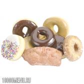 Пончики - калорійність і види. склад пончиків