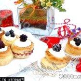 Рецепт булочки з ягодами і сирною начинкою з фото
