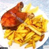 Рецепт кефаль смажена з картоплею по-домашньому з фото