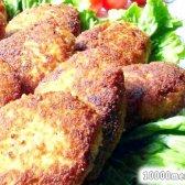 Рецепт курячі котлети з начинкою з білих грибів з фото