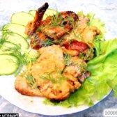 Рецепт курячі крильця в томатно-фруктовому маринаді з фото